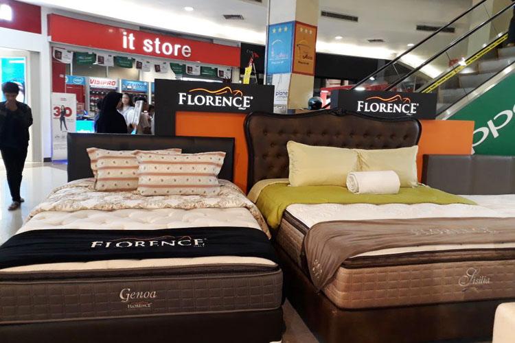 Tiga Brand Spring Bed Import Hadir di Plaza Asia