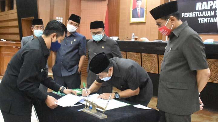 APBD Kota Tasikmalaya Tahun 2021 Rp 1,6 Triliun, Disetujui DPR (2)