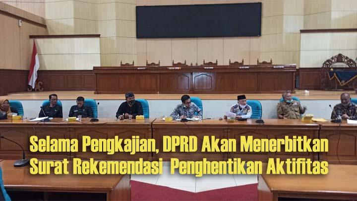 DPRD Kabupaten Tasikmalaya Dorong Desa dan Kecamatan Kaji Ulang Izin Tambang