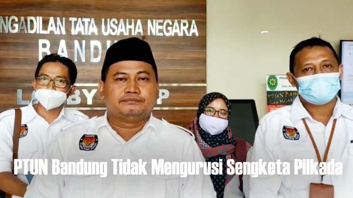 Gugatan FKMT Terhadap KPU dan Bawaslu Tasikmalaya Ditolak Majelis Sidang PTUN