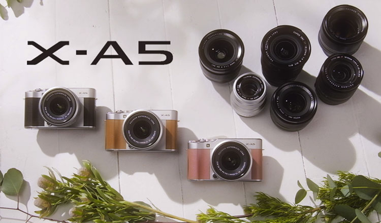 Kamera Mirrorless FujiFilm X-A5