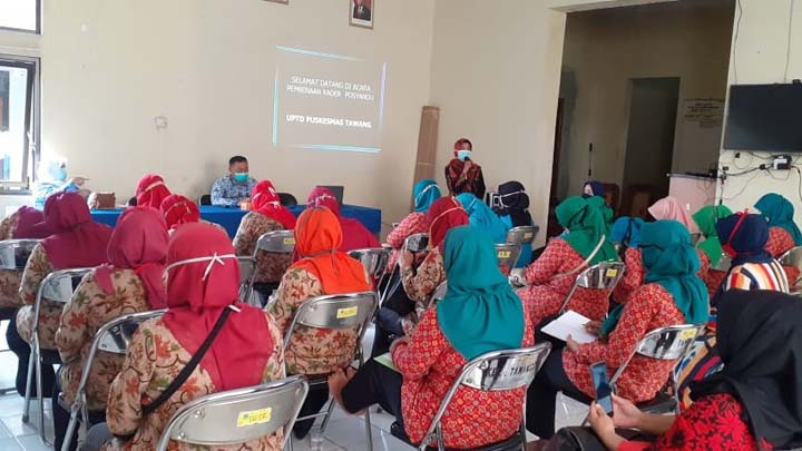 Kelurahan Tawangsari Kota Tasikmalaya Gelar Pelatihan Kader Posyandu (2)
