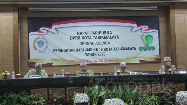 Kloropak.co.id - Rasa Syukur di Hari Jadi Ke-19 Kota Tasikmalaya di Tengah Pandemi Covid-19