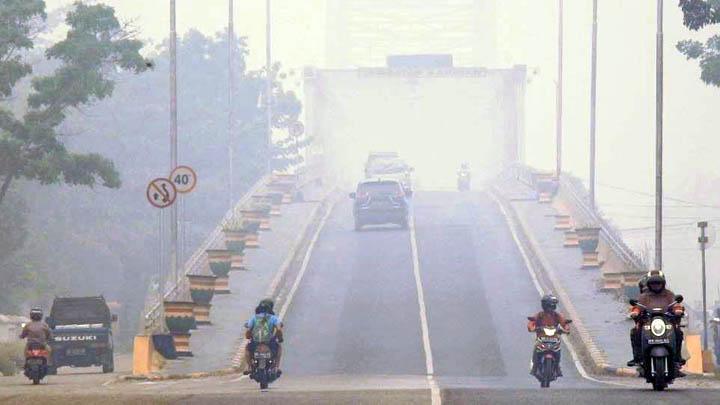 Koropak.co.id - Akibat Kebakaran Hutan, Indonesia Darurat Kabut Asap (3)
