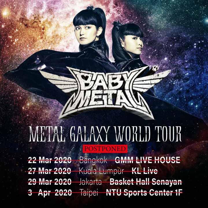 Koropak.co.id - Akibat Virus Corona, Konser Babymetal di Indonesia Ditunda (2)