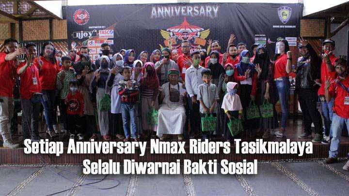 Koropak.co.id - Anniversary Ke-4 Nmax Riders Tasikmalaya, Tidak Ada Lautan Nmax