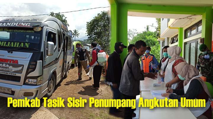 Koropak.co.id - Antisipasi Sebaran Corona, Masuk Kabupaten Tasikmalaya Diperiksa Suhu Tubuh