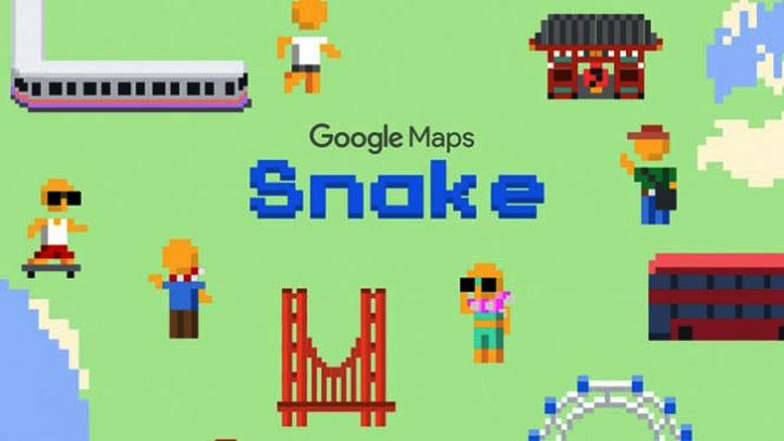 Koropak.co.id - April Mop, Google Launching Games Snake (2)