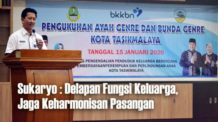 Koropak.co.id - Atalia Kamil Lantik Bunda Genre Kota Tasikmalaya (2)