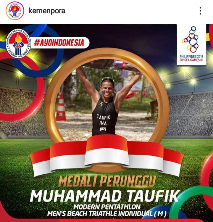 Koropak.co.id - Atlet Asal Tasikmalaya Sumbang 2 Medali di Sea Games 2019 (2)