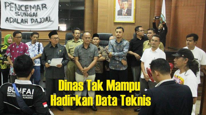 Koropak.co.id - Audiensi Memanas, Aktivis Desak Penanggulangan Sungai Ciwulan 2