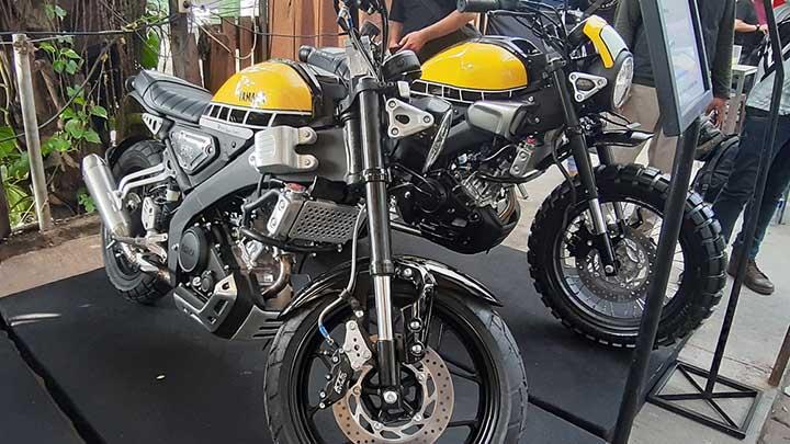 Koropak.co.id - Bali Jadi Tuan Rumah CustoMAXI x Yamaha Heritage Built