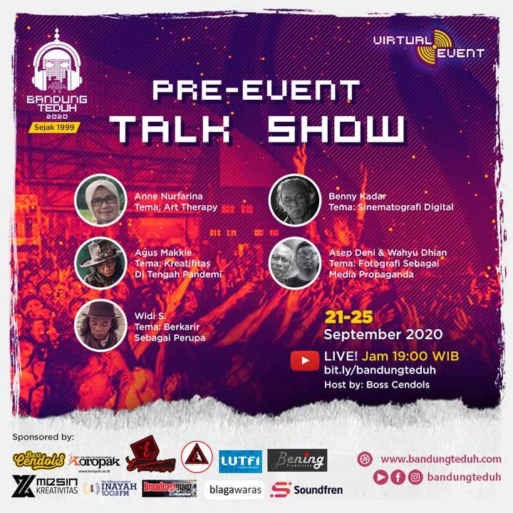 Koropak.co.id - Bandung Teduh 2020 Virtual Event, Media Apresiasi Dengan Ragam Kreativitas