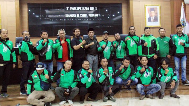 Koropak.co.id - Banyak Hak Tidak Dipenuhi, Gojek Driver Tasikmalaya Tuntut Manajemen (2)