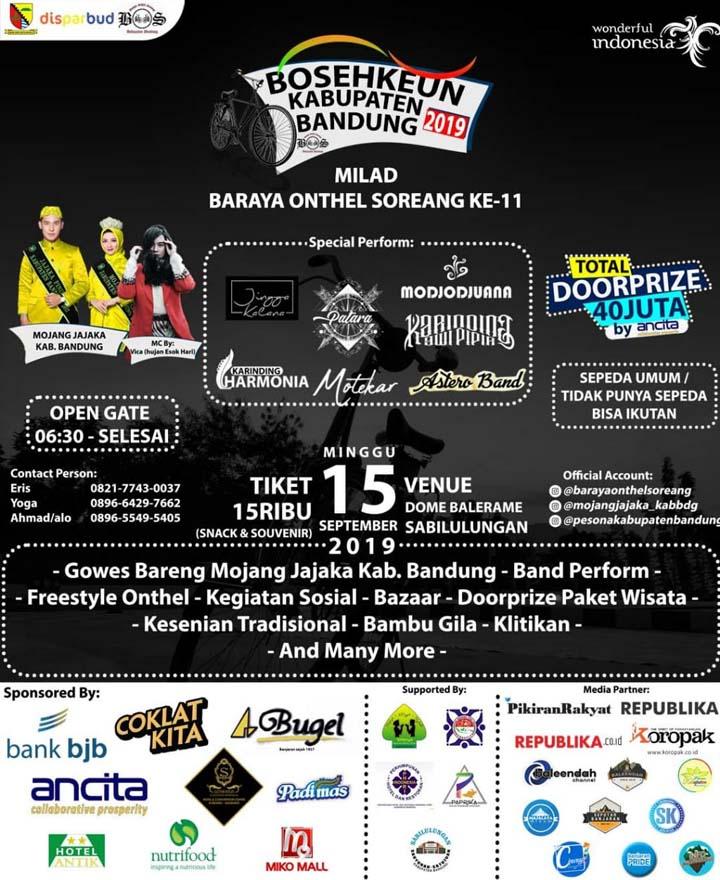 Koropak.co.id - Baraya Onthel Soreang Ajak Komunitas Onthel Keliling Bandung (2)