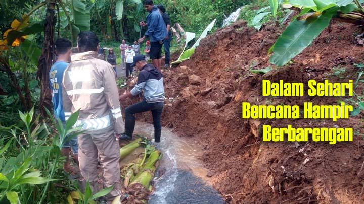 Koropak.co.id - Bencana Alam Kepung Kabupaten Tasikmalaya Bagian Selatan (2)