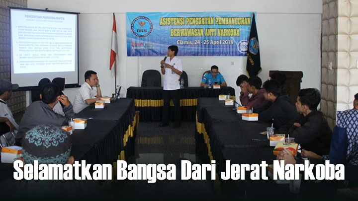 Koropak.co.id - Berdayakan Masyarakat Jadi Satgas Anti Narkoba (2)