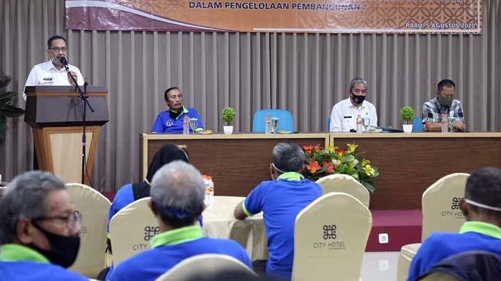 Koropak.co.id - Bimtek Tingkat Kapasitas LPM Sebagai Mitra Strategis Lurah di Kota Tasikmalaya
