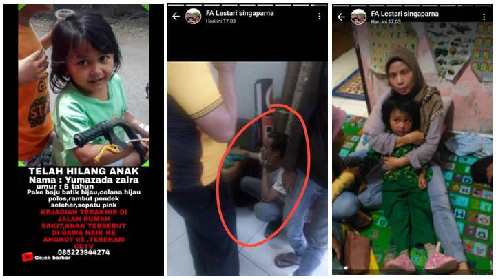 Koropak.co.id - Bocah 5 Tahun Diculik di Tasikmalaya Gegerkan Warga Net (2)
