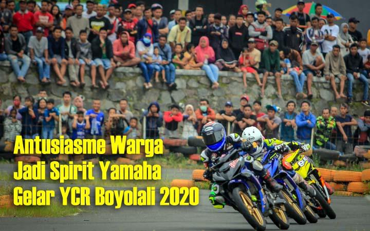 Koropak.co.id - Boyolali Jadi Pembuka Seri 1 Yamaha Cup Race 2020 (2)