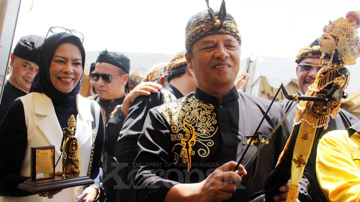 Koropak.co.id - Bupati Bandung Apresiasi Festival Nuras Cai 2