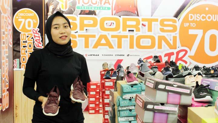 Koropak.co.id - Cari Sepatu Berkualitas Sport Station Fair Yogya HZ Solusinya