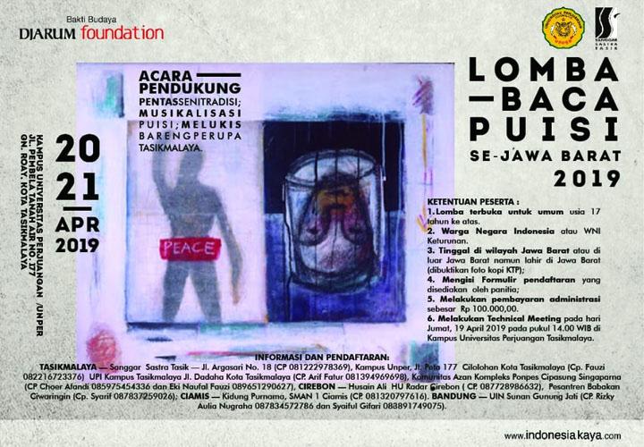 Koropak.co.id - Catat, Lomba Baca Puisi Se-Jabar Segera Digelar (3)