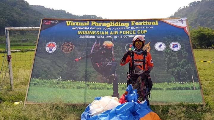 Koropak.co.id - Cepi Rahmat Nugraha Sosok Atlet Paralayang Dari Kabupaten Tasikmalaya (2)