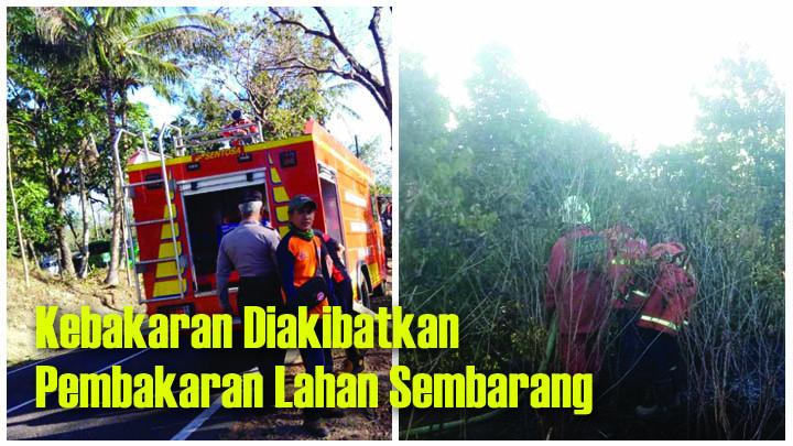 Koropak.co.id - Dalam 1 Hari, Kebakaran Hanguskan Lahan di 3 Kecamatan di Tasikmalaya