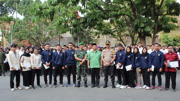 Koropak.co.id - Dandim 0611Garut Ajak Mahasiswa Gugah Spirit Cinta Tanah Air (2)