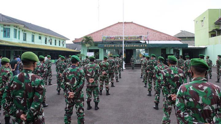 Dandim 0612 Tasikmalaya Pastikan Prajurit dan ASN Siap Hadapi New Normal