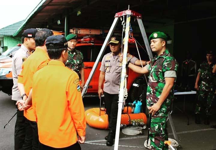 Koropak.co.id - Dandim 0612Tasikmalaya Pantau Kesiapsiagaan Penanggulangan Bencana (2)