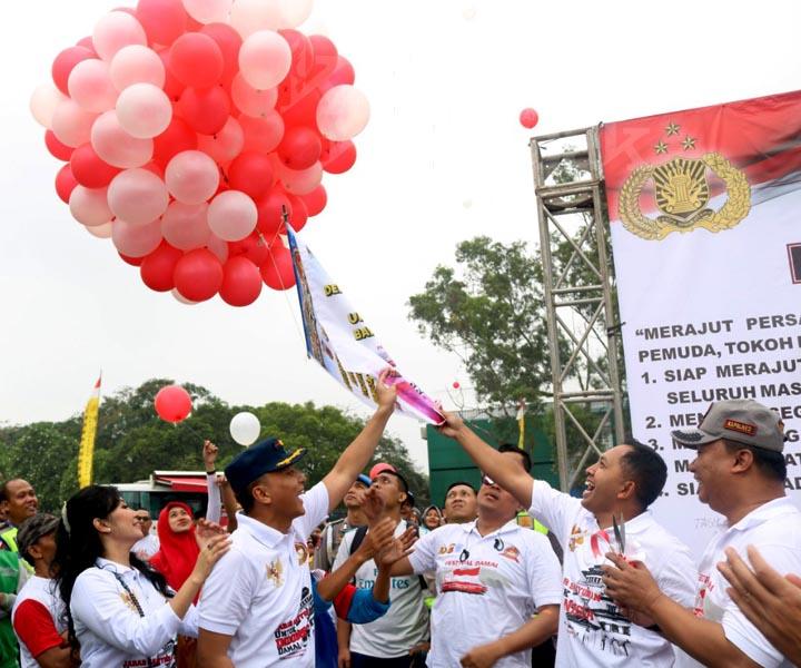 Koropak.co.id - Danlanud Wiriadinata Meriahkan Festival Damai HUT Bhayangkara (2)