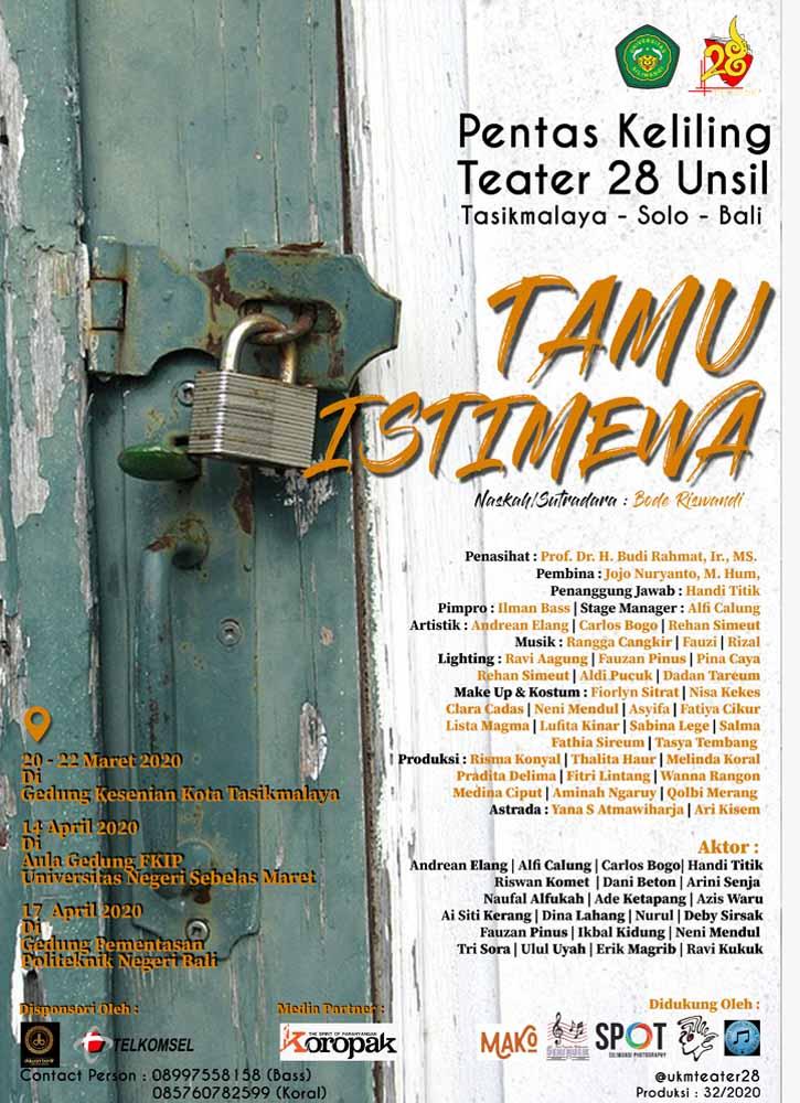 Koropak.co.id - Dari Tasikmalaya, Teater 28 Unsil Siap Keliling Indonesia (2)