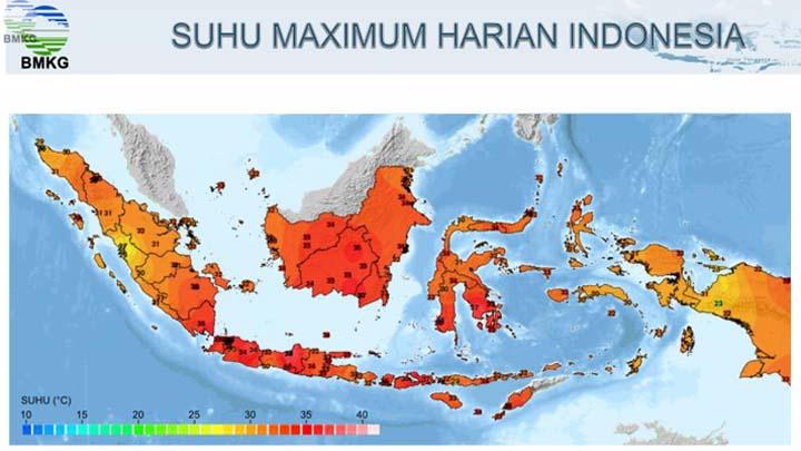 Koropak.co.id - Darurat! Suhu Panas Melanda Berbagai Wilayah di Indonesia (2)