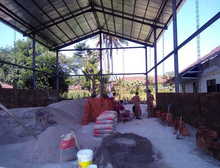 Koropak.co.id - Desa Cimurah Garut Bangun GOR Taraf Nasional (1)