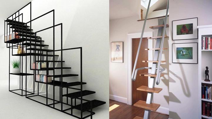 Koropak.co.id - Desain Tangga Rumah sempit paling Kreatif 2