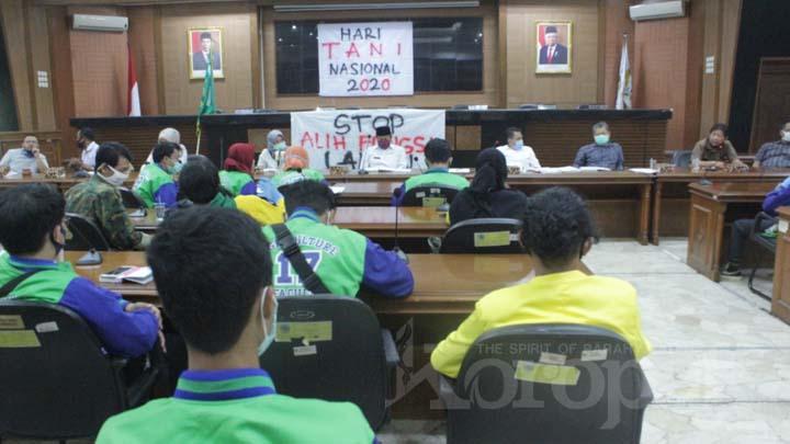 Koropak.co.id - Dewan Dorong Pemerintah Untuk Segera Tetapkan LP2B Di Kota Tasikmalaya
