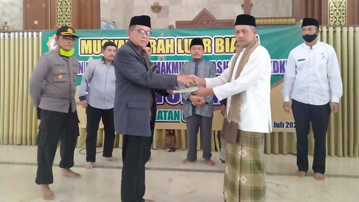 Koropak.co.id - Dewan Kemakmuran Masjid Besar Ciawi Punya Pemimpin Baru