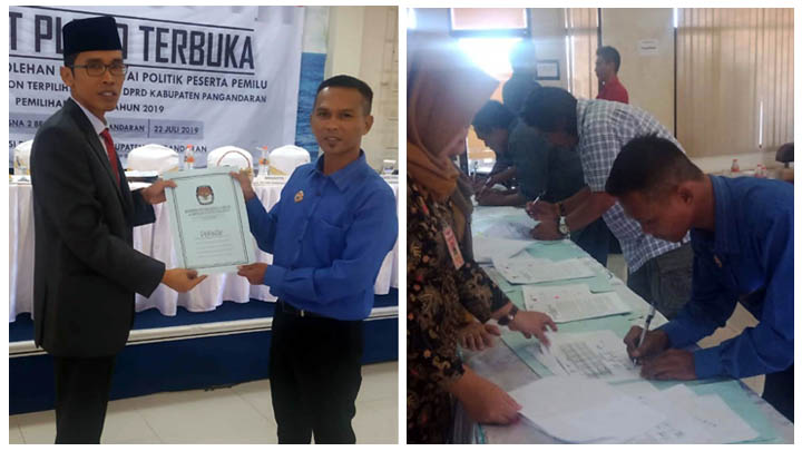 Koropak.co.id - Di DPRD Pangandaran, Partai Milik Raja Televisi Swasta Ini Raih 1 Kursi