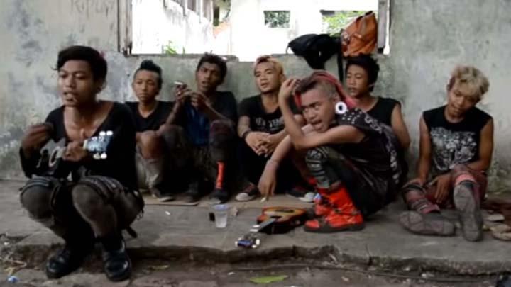 Koropak.co.id - Di Jalanan, Anak Punk Mampu Isi Kekosongan Hidup Mereka (2)