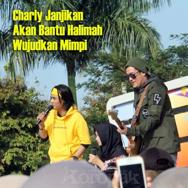 Koropak.co.id - Di Karnaval SCTV, Fans Setia Band Buatkan Masakan Favorit Charly (2)