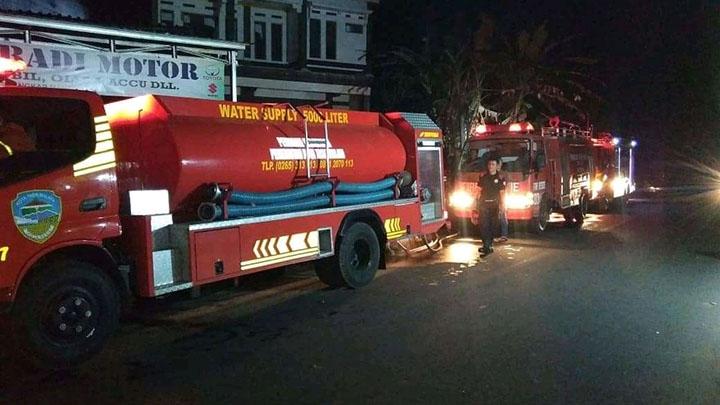 Koropak.co.id - Di Tasikmalaya, Dua Kebakaran Terjadi Dalam Sepekan