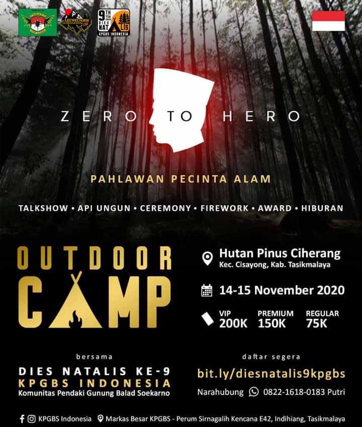 Koropak.co.id - Dies Natalies Ke-9 KPGBS Indonesia Usung Tema Zero To Hero