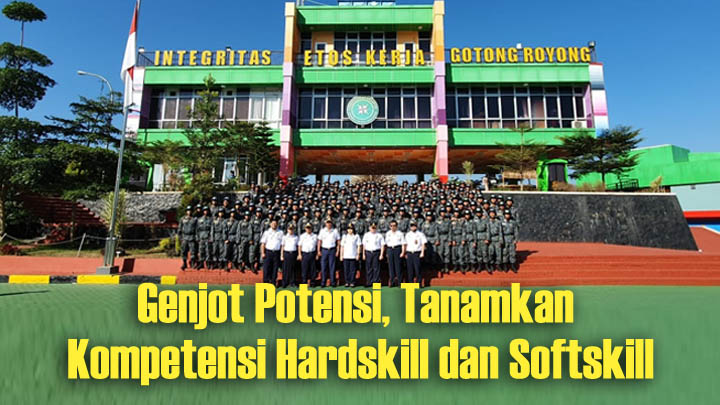 Koropak.co.id - Diklat Pembangunan Karakter Calon Taruna Poltekpel Banten Diresmikan (2)