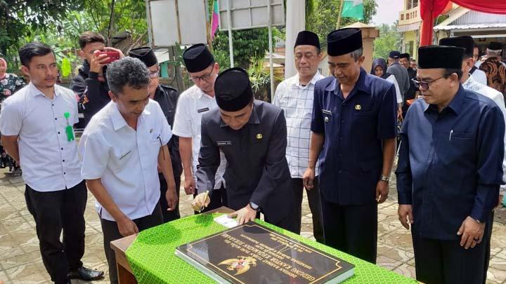 Koropak.co.id - Diresmikan Sekda, Kini Sukarame Miliki Kantor Kecamatan Baru (1)