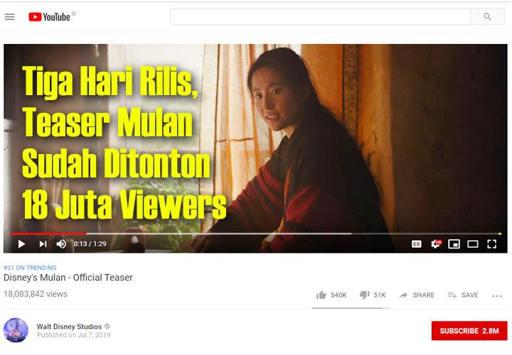 Koropak.co.id - Disney Rilis Trailer Live Action  Mulan, Untuk Tayang 2020 (2)
