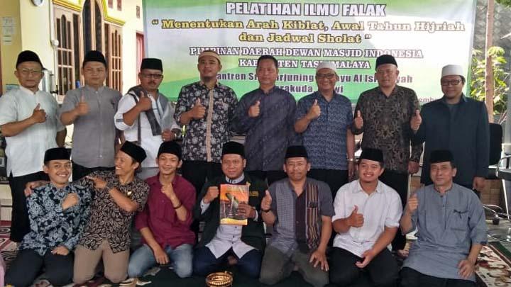 Koropak.co.id - DMI Kabupaten Tasikmalaya Perdalam Hisab Arah Kiblat (2)