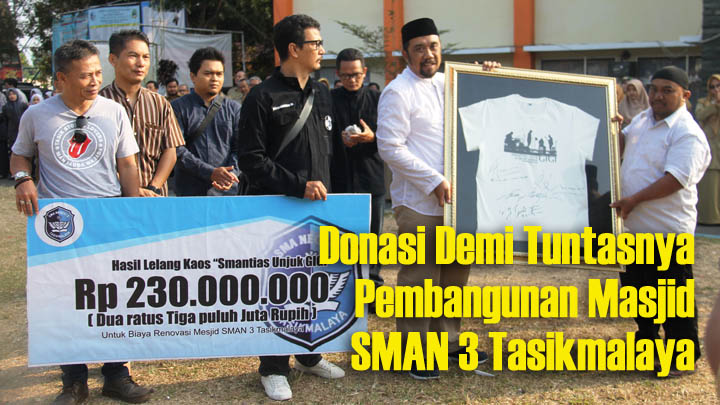 Koropak.co.id - Donasi Untuk Masjid, Lanjutan Reuni Akbar SMAN 3 Tasikmalaya (2)