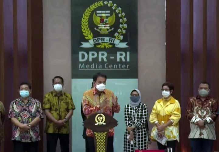 Koropak.co.id - DPR RI Ungkap Berbagai Mekanisme Telah Ditempuh UU Omnibus Law